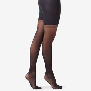 Spanx Size A Black Graduated Compression Sheers